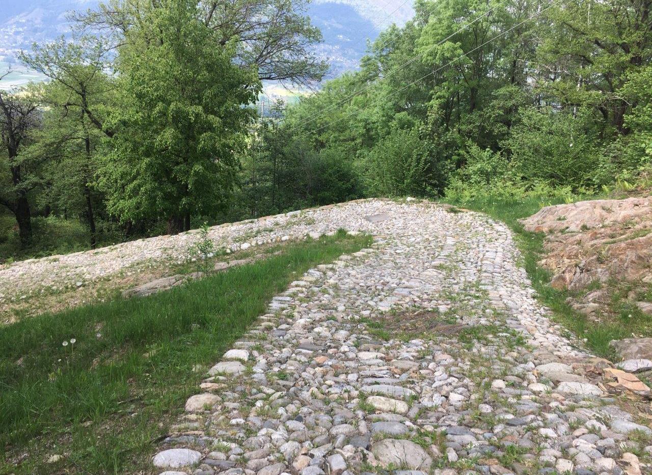 Pflastersteinstrasse Strada romana