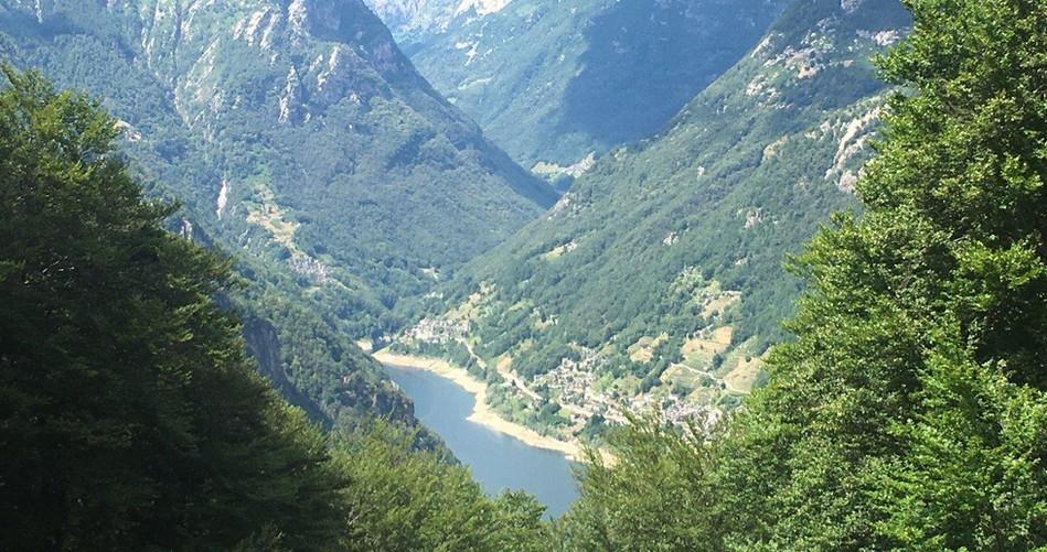 Blick ins Valle Versasca