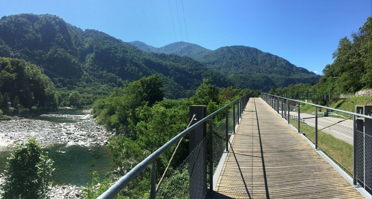 Brücke vor Avegno