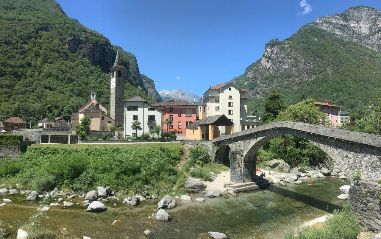 Brücke bei Bignasco