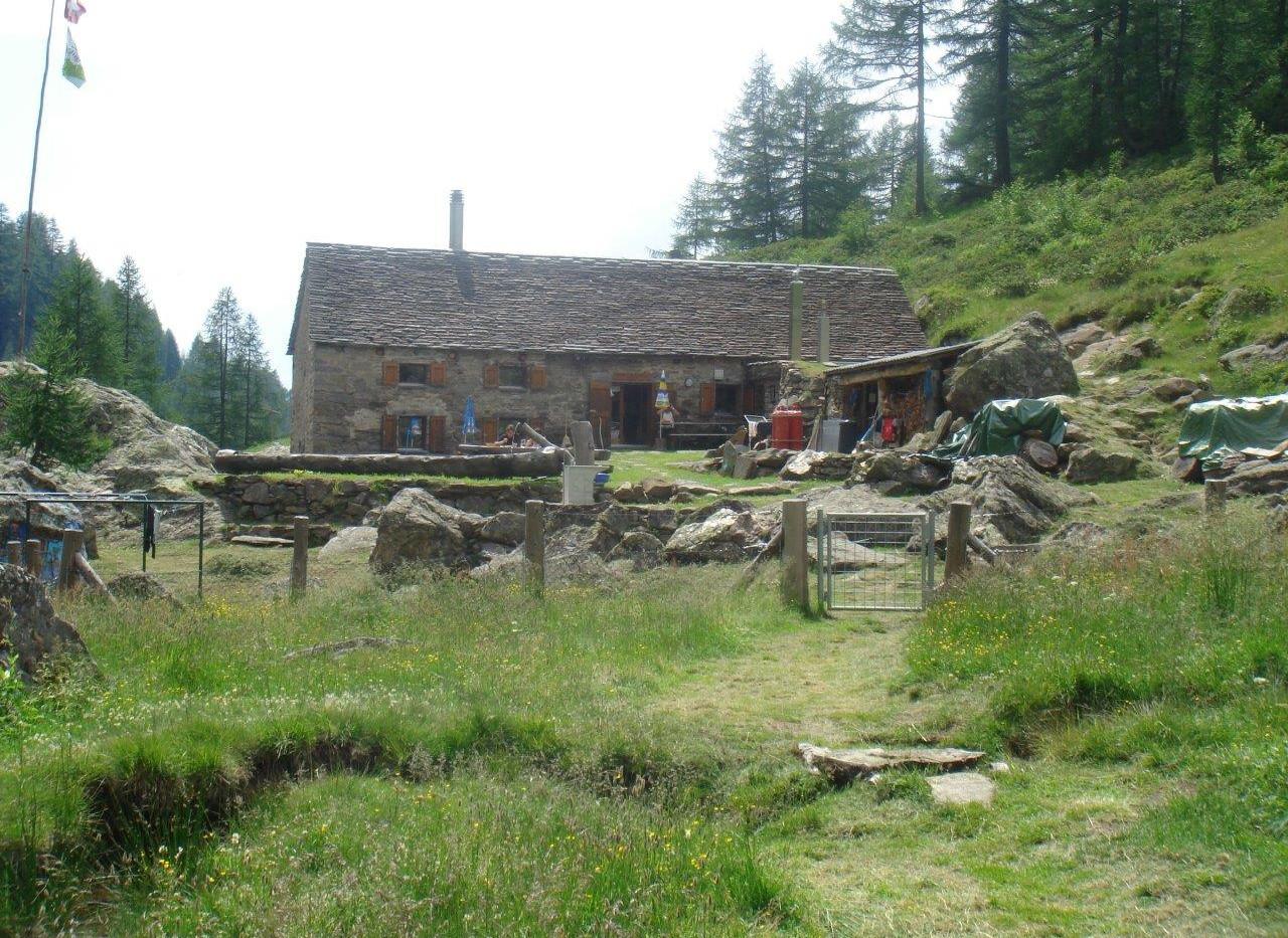 Schöne Umgebung bei der Hütte
