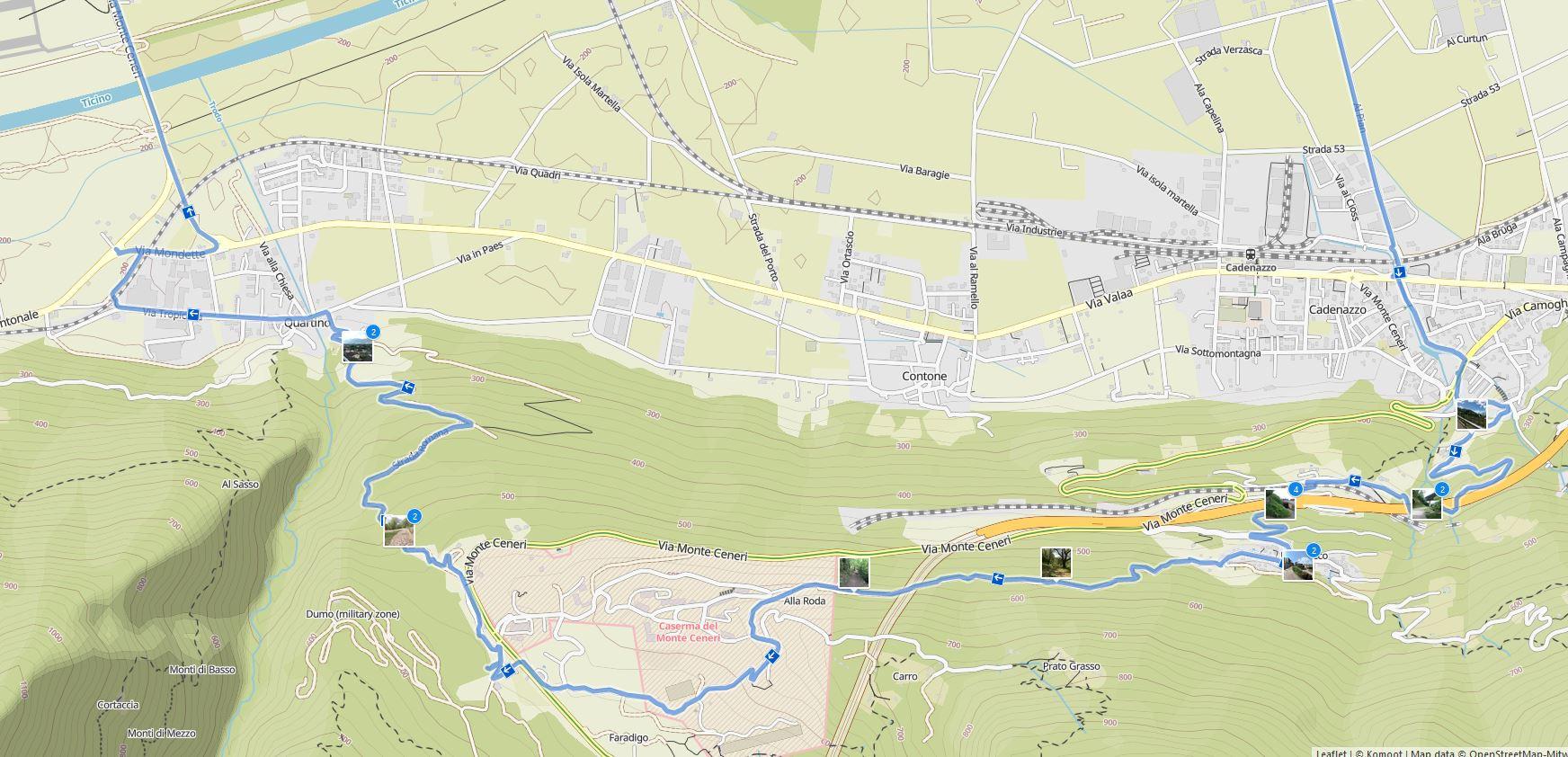 Kartenausschnitt Detail