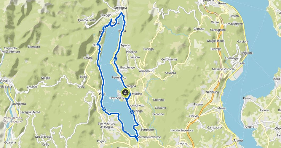Kartenausschnitt-Lago-Orta
