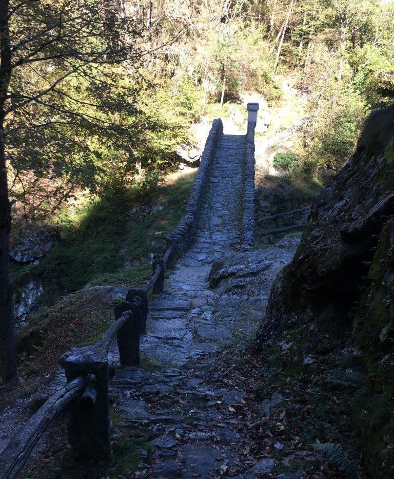 Römerbrücke über Melezza