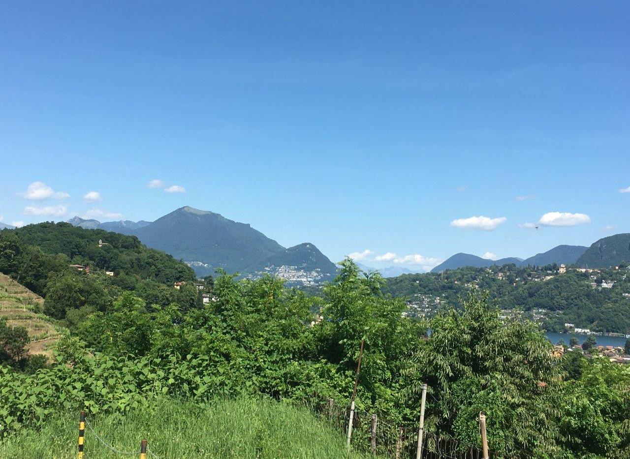 Blick auf Monte Brè