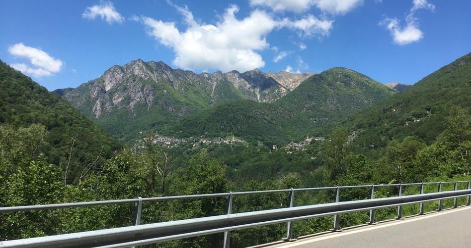 Blick Richtung Valle Onsernone