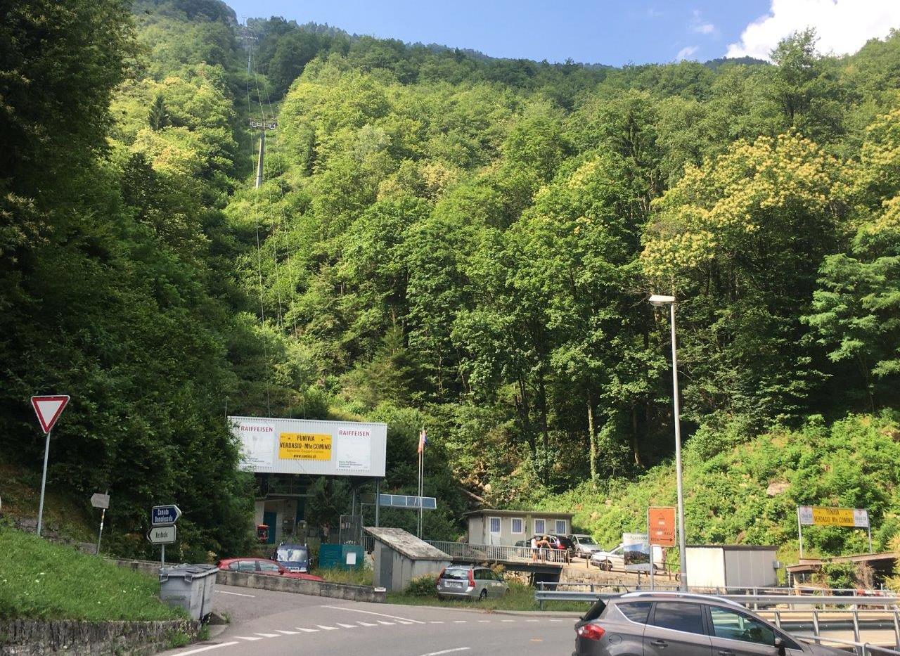 Talstation Monte Comino