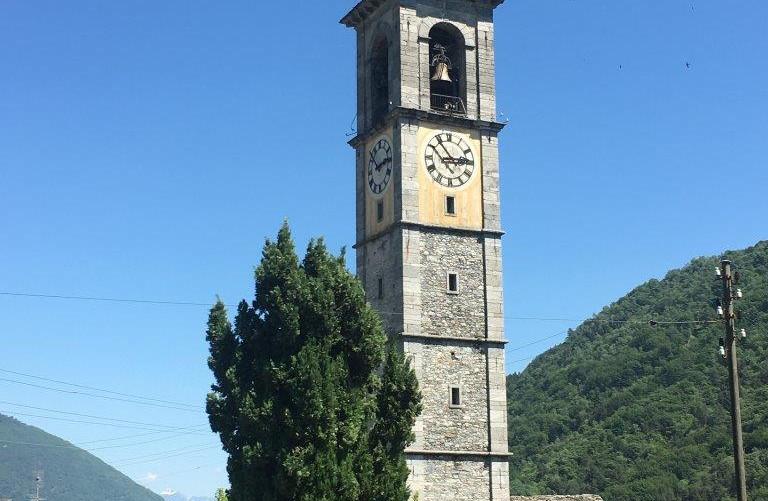 Höchster Kirchturm vom Tessin
