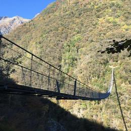 Tibetische Brücke Carasc