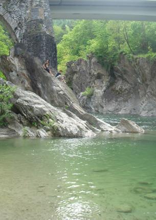 2.1 Badebucht in Golino