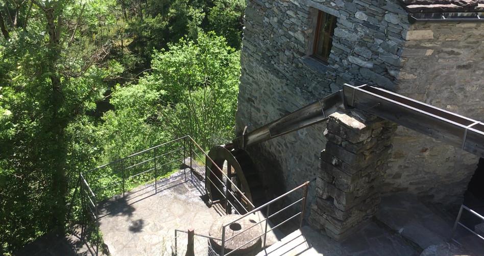 Bekannte Mühle von Loco