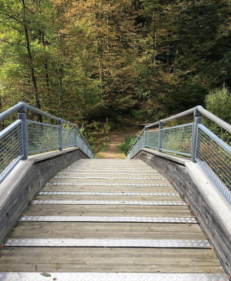 Brücke über Isorno