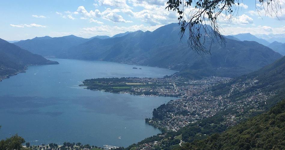 Ausblick Richtung Lago Maggiore