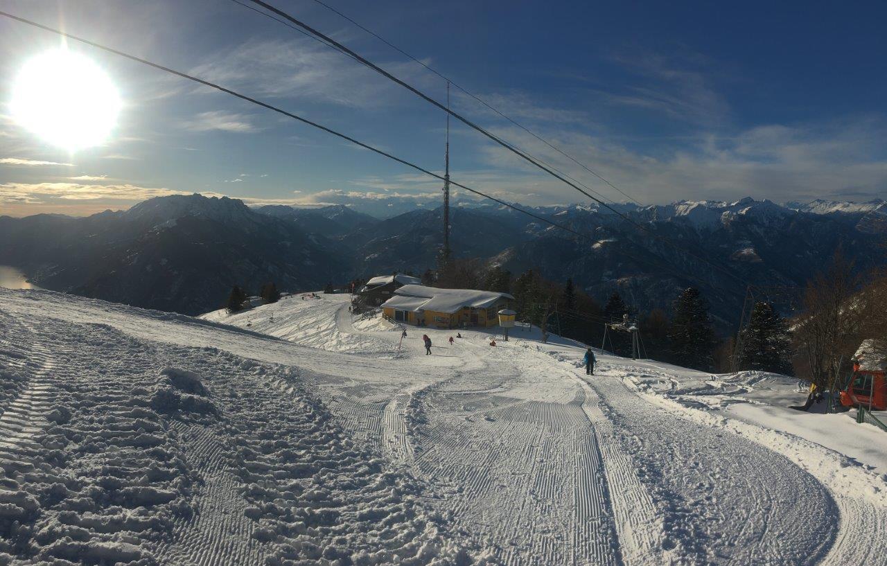 Aussicht Walliser Berge