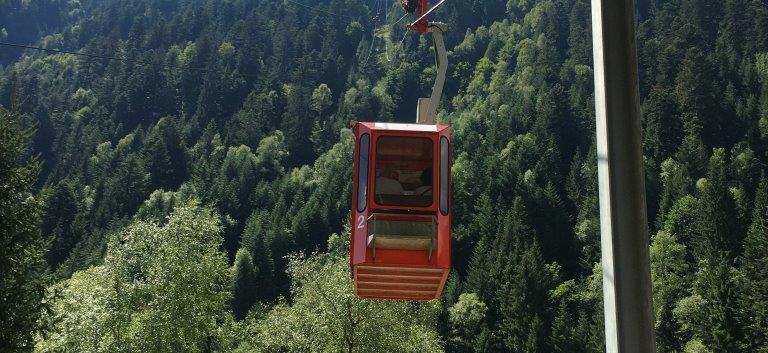 Seilbahn von Vergeletto nach Alpe Salei