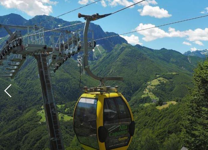 Luftseilbahn Monte Comino