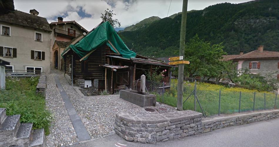 Dorfbrunnen in Cerentino