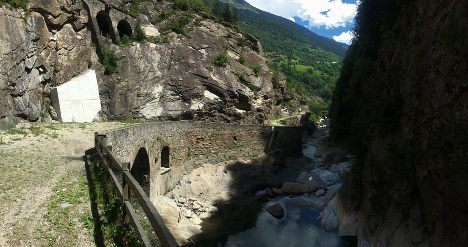 Trail Piottina Schlucht