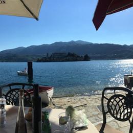 Lago d'Orta (Italien)