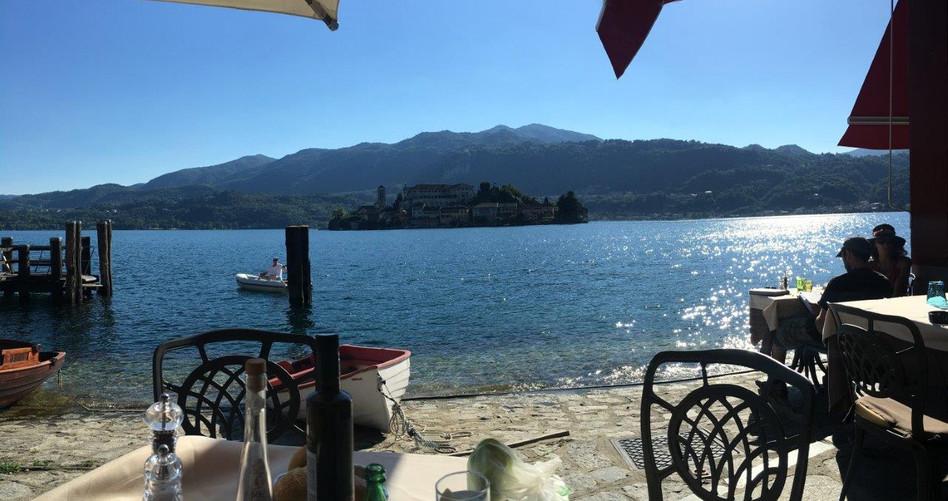 Einladende Restaurants am See
