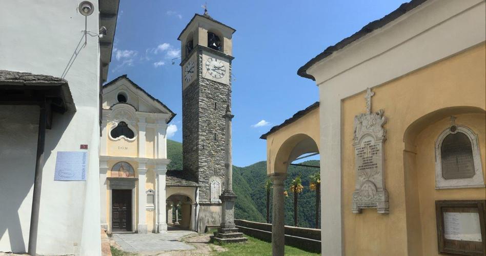Kirche in Mergoscia