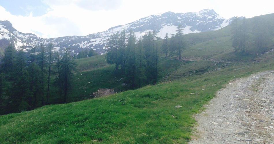 Weg von Bosco Gurin nach Grossalp