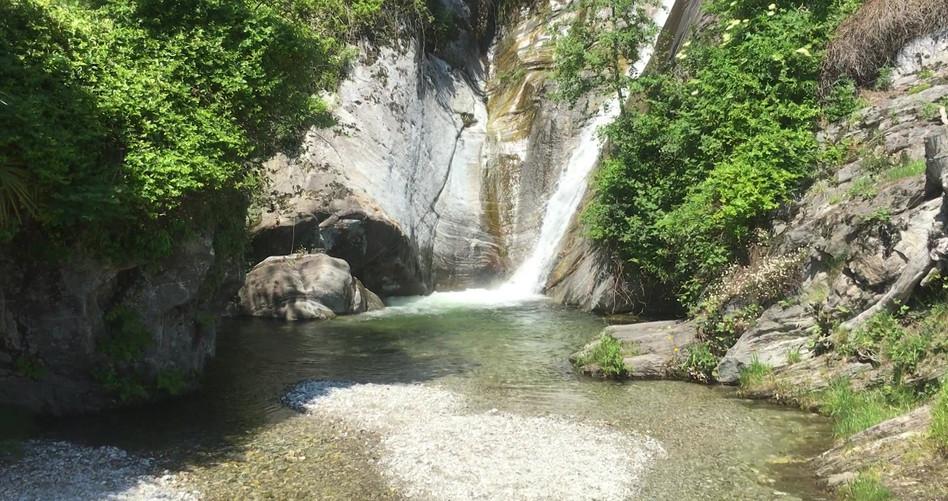 Wasserfall bei Brione
