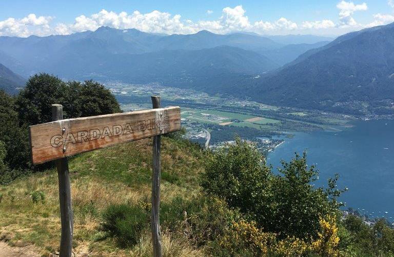 Beginn Trail nach Val Resa
