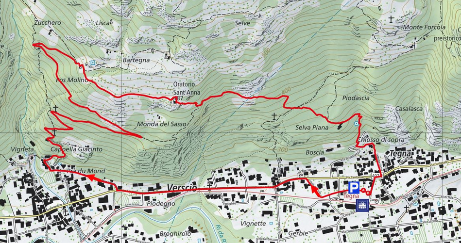 Kartenausschnitt_Oratorio Sant-Anna