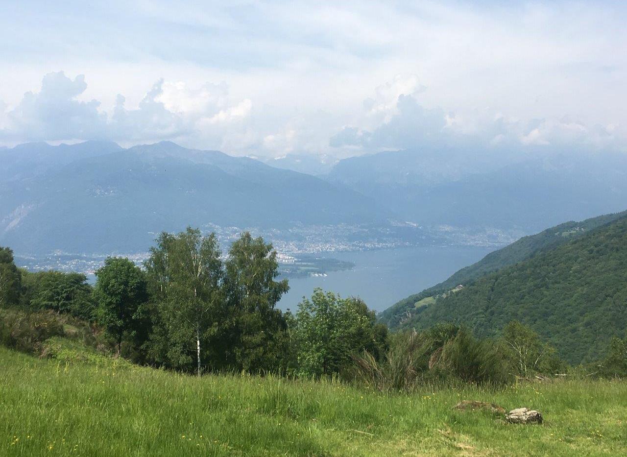 Aussicht Richtung Locarno