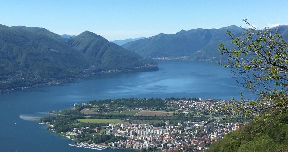 Blick nach Locarno, Ascona