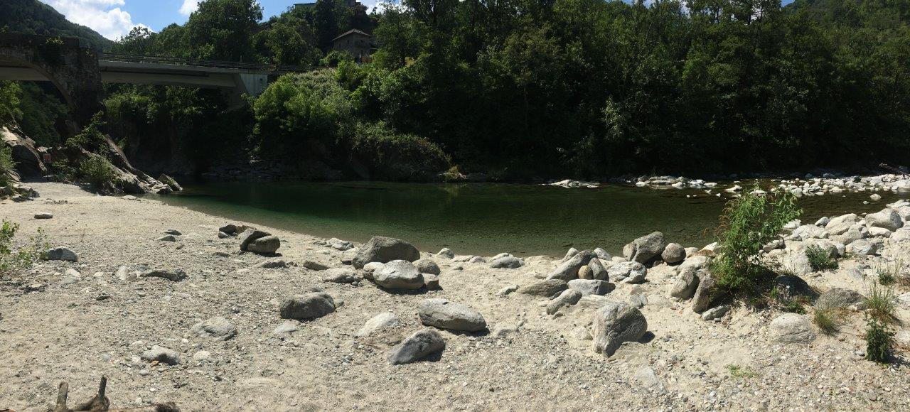 Strand bei Golino