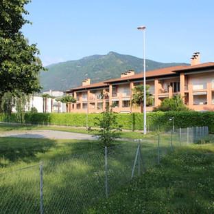 """Ansicht vom """"Parco dei poeti"""" aus."""