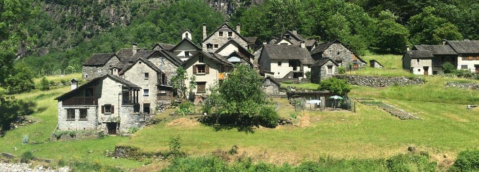 Weiler im Val Bavona