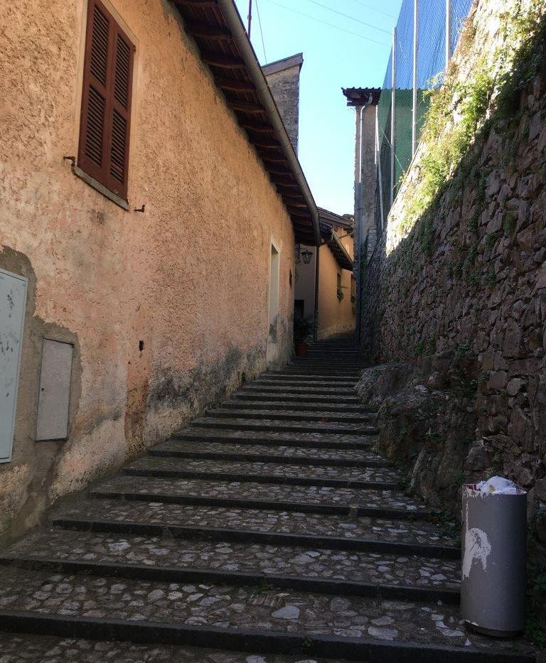 Treppen durch Gandria