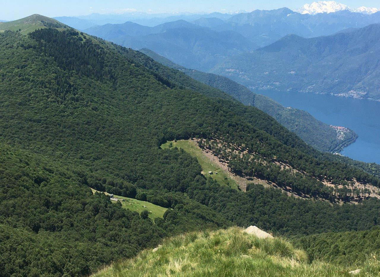 blick auf Alpe Cedullo (links)