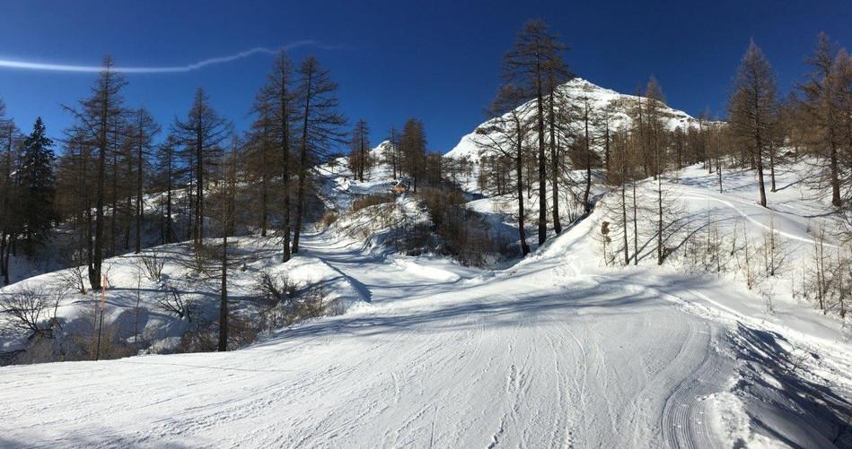 Geheimtipp-Schneeschuhwanderung Bosco Gurin nach Grossalp