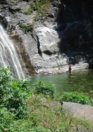 3.7 Wasserfall Bignasco