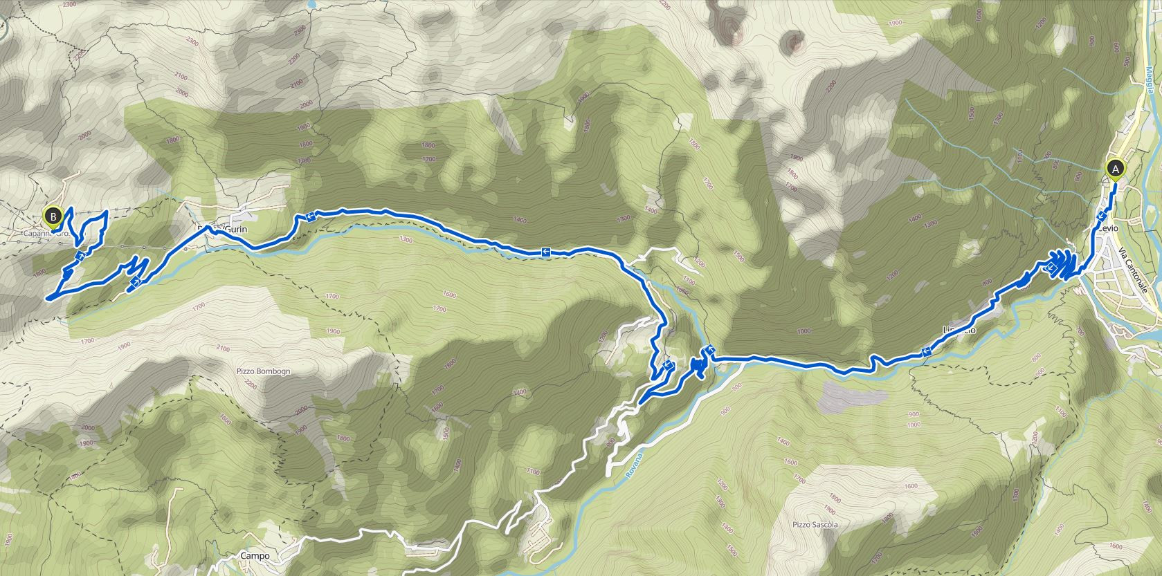 Kartenausschnitt-Bosco-Gurin-Grossalp