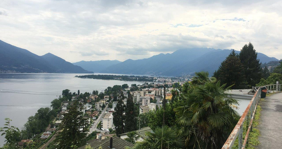 Blick von der Via Mondacce