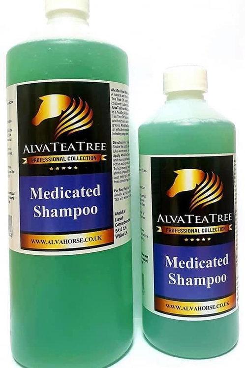AlvaTeaTremedicated shampoo