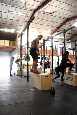 Box jump pendant un WOD