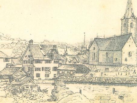 Der Zeichner des alten St.Gallen