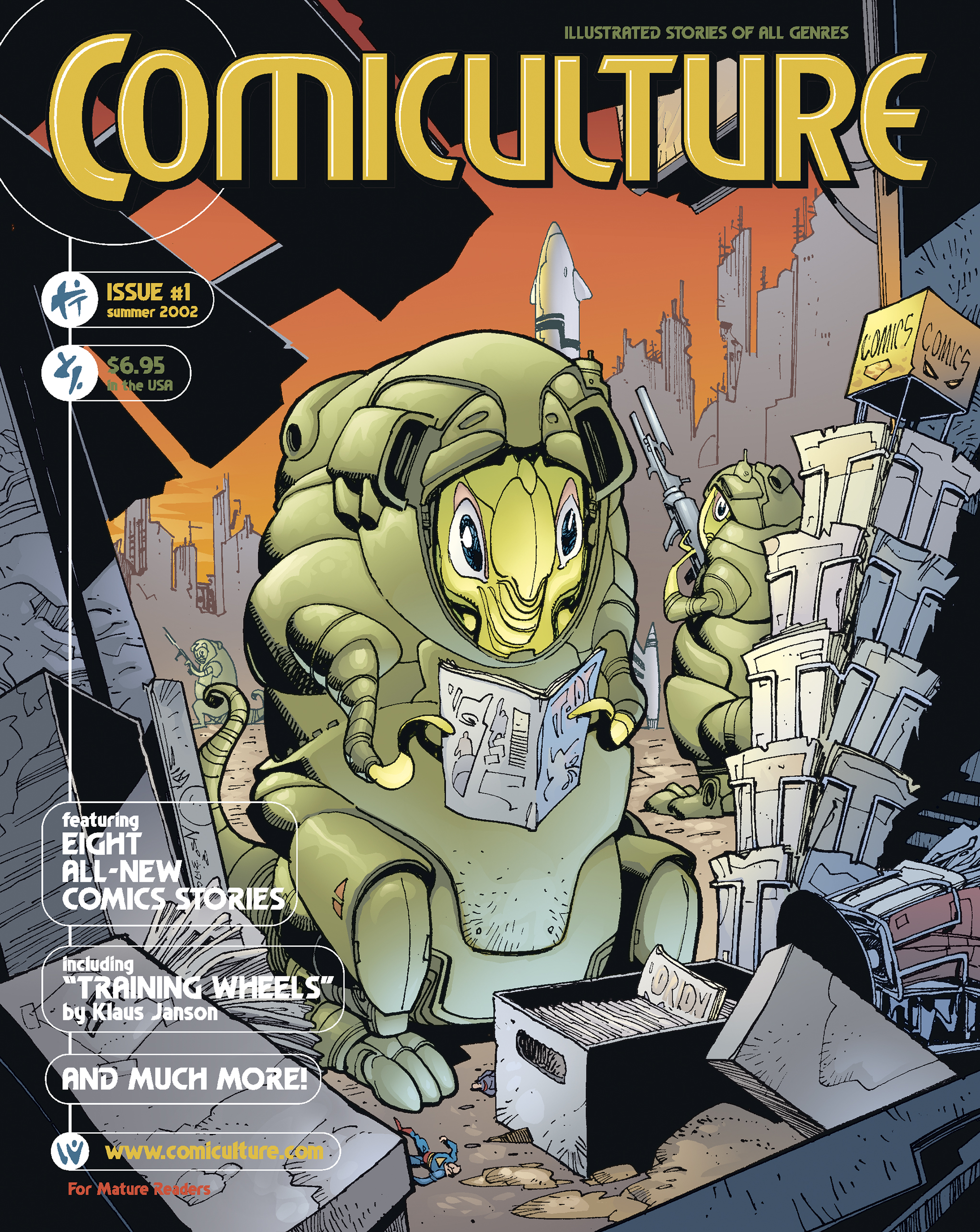 Comiculture #1 Cover