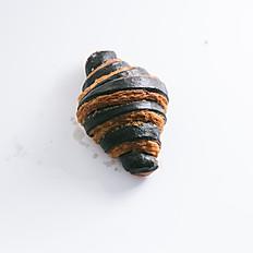 Charcoal Bi-color Croissant