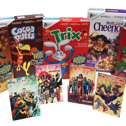 General Mills Cereals Comics