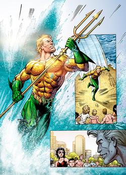 Aquaman Story Page