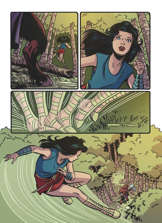 Wonder Woman Story Page
