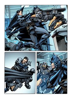 Batman Story Page