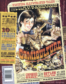Comiculture #2 Cover